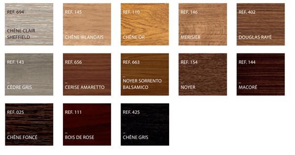 Structures bois naturelles