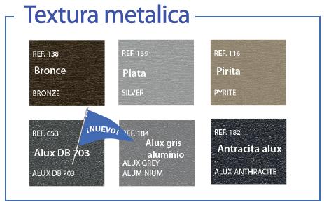 Textura metalica