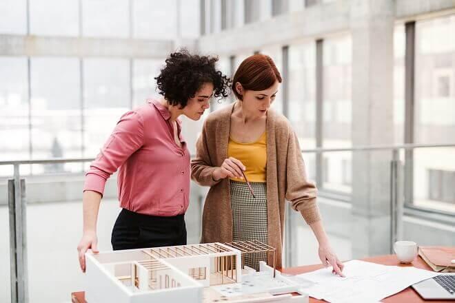 Vrouwen in architectuur